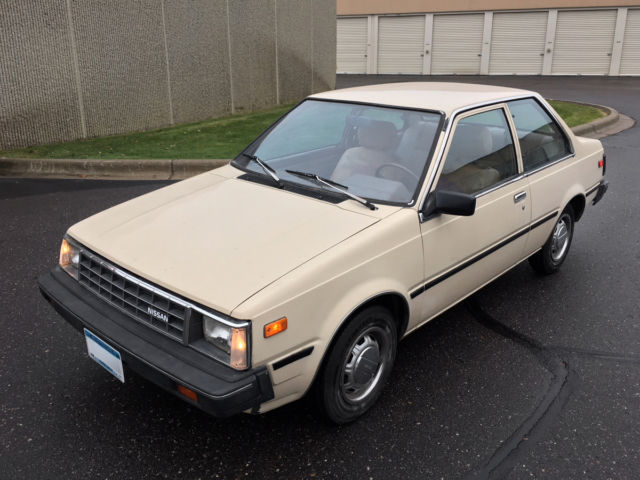 1984 Nissan Sentra Deluxe