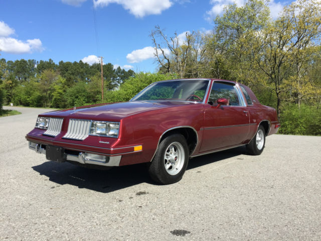 1984 Oldsmobile Cutlass Supreme Special Edition for sale