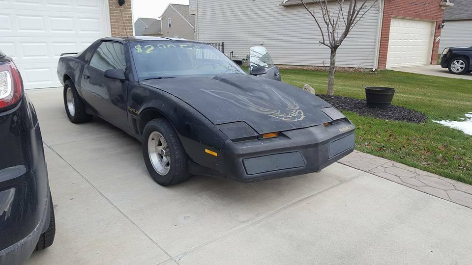 1984 pontiac firebird trans am black coupe v8 automatic for sale photos technical specifications description topclassiccarsforsale com