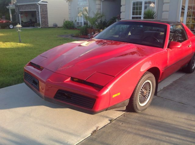 1984 pontiac trans am red with t tops only 54 000 miles for sale photos technical specifications description 1984 pontiac trans am red with t tops only 54 000 miles for sale photos technical specifications description