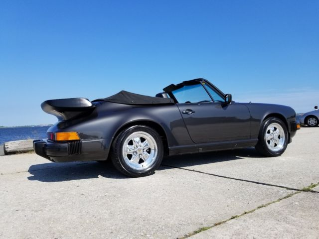1984 Porsche 911 Carrera Convertible 2-Door