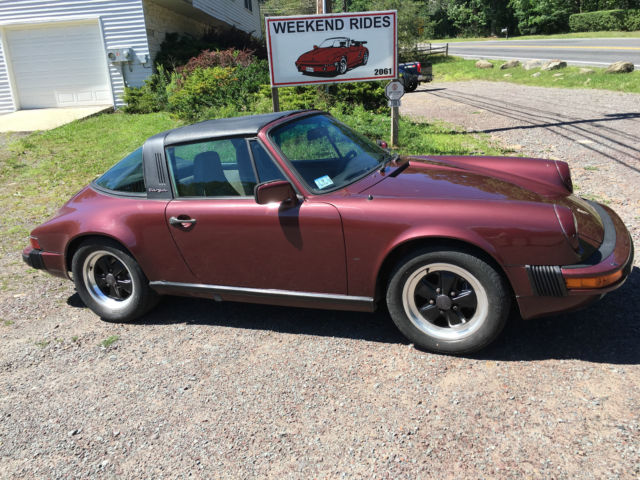 1984 porsche 911 targa needs love pennsylvania for sale photos technical specifications. Black Bedroom Furniture Sets. Home Design Ideas