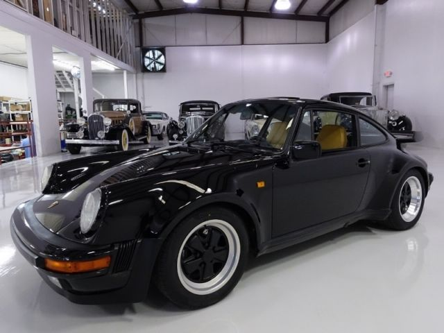 1984 Porsche 930 Turbo Coupe, ONLY 18,782 ACTUAL MILES!