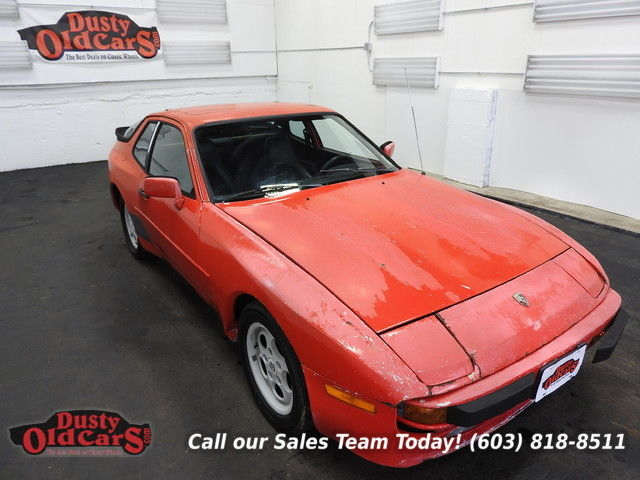 1984 Porsche 944 Runs Drives Body Int Good 2.5I4 5spd man