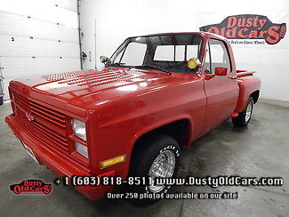 1984 Chevrolet C-10 Runs Drives Interior Body All Excel 350V8 PS PB