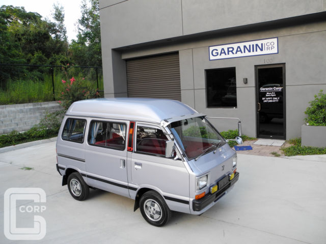 1980 Subaru Sambar Try TRY FX5 2WD A/C 550cc STREET LEGAL Kei Mini Van