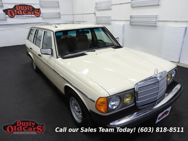 1984 Mercedes-Benz 300-Series 300TD Wagon 3.0L I5 Runs Drives Body Inter Vgood