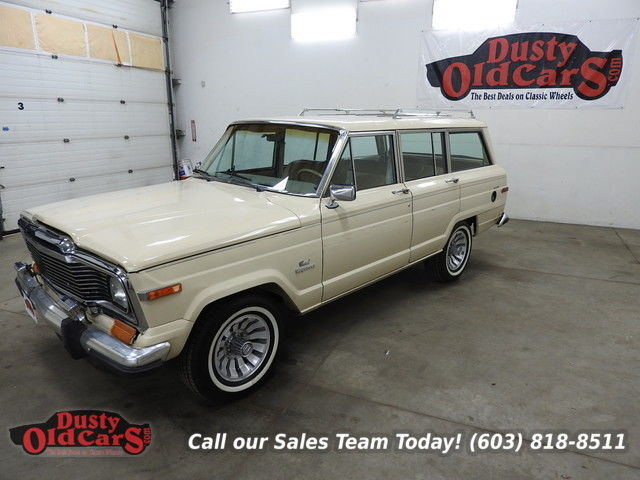 1984 Jeep Wagoneer Runs Drives Body Inter VGood 4wd AC 360V8