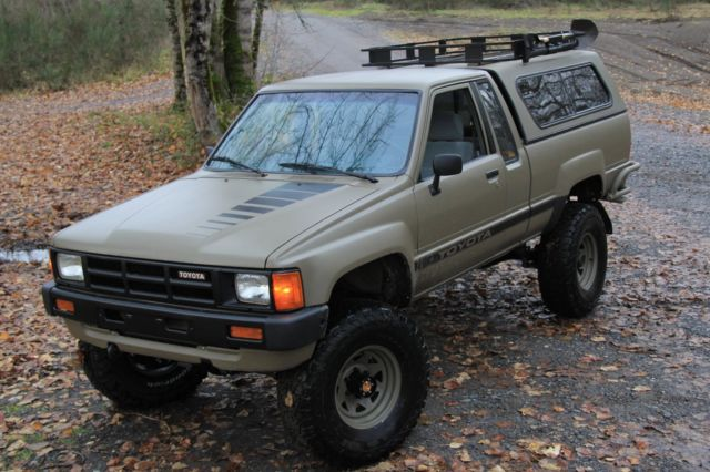1984 toyota 4x4 truck restored tastefully upgraded 22r 5spd pickup 4wd for sale photos