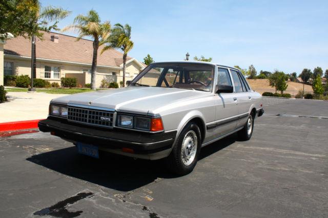 1984 Toyota Cressida Luxury Sedan 4 Door 2 8l For Sale