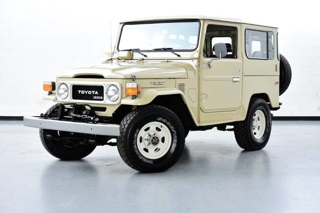 1984 Toyota Land Cruiser 1984 Toyota Bj42 3b diesel engine 5 spd transmission