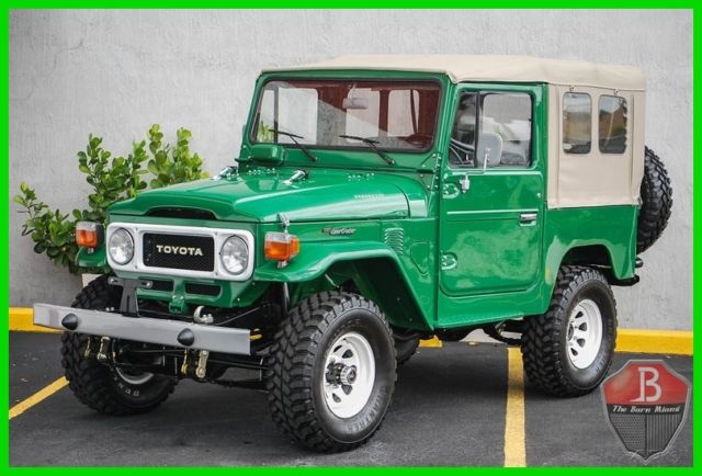 1984 Toyota Land Cruiser NO EXPENSE SPARED OEM NUT AND BOLT RESTORATION