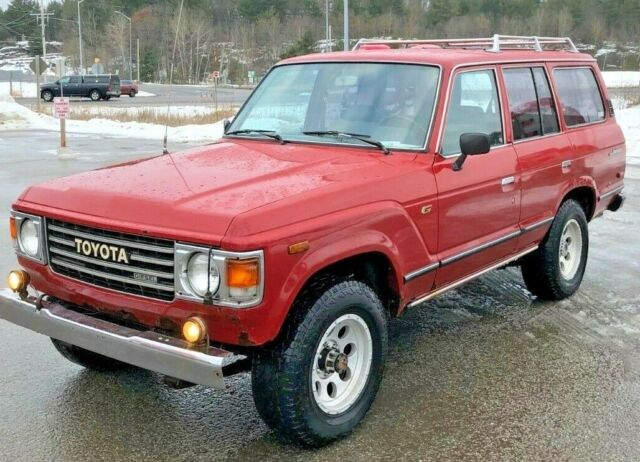 "1984 Toyota Landcruiser BJ60 Diesel 5 SPD Manual ""Canadian"" RARE."