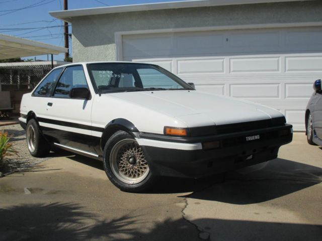 1984 toyota sprinter trueno ae86 for sale photos technical specifications description. Black Bedroom Furniture Sets. Home Design Ideas
