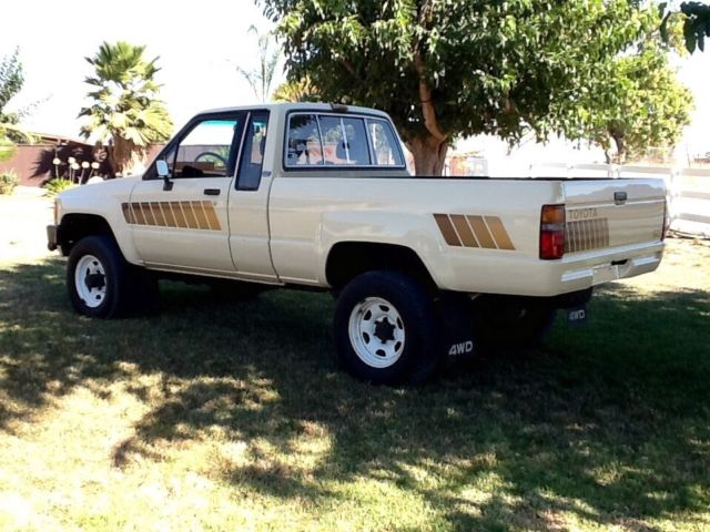 1984 toyota sr5 extended cab 4x4 pickup truck pristine