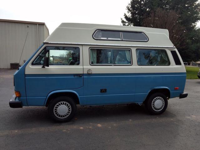 2e6a3cbe86 1984 Volkswagen Adventurewagen Water Cooled High Top Camper Van for ...