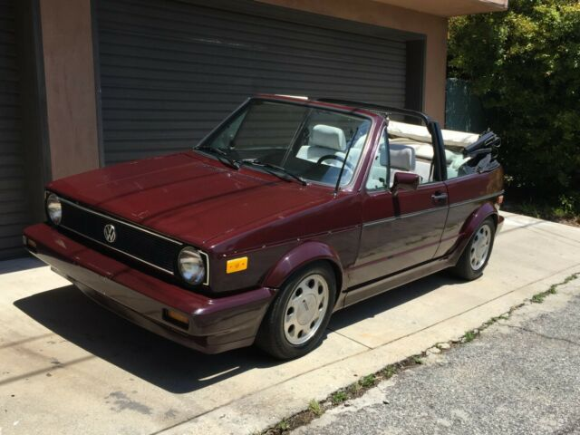 1984 Volkswagen Cabrio RABBIT WOLFSBURG EDITION FUEL INJECTED 5 SPEED