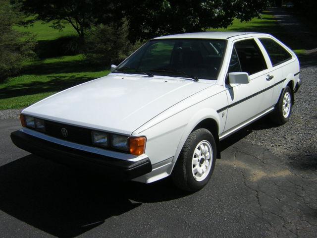1984 Volkswagen Scirocco Wolfsburg Edition for sale: photos ...