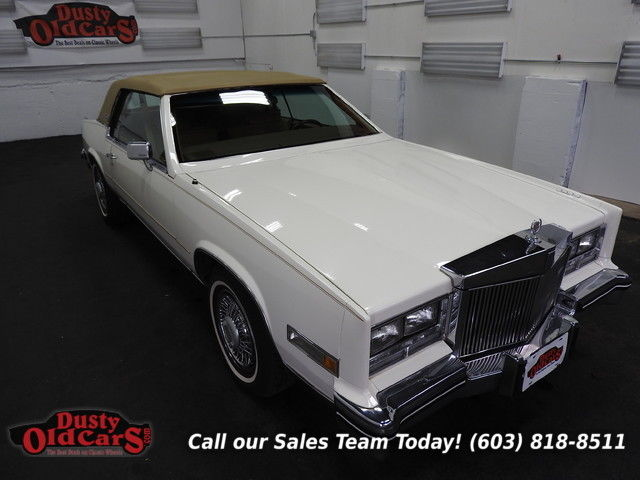 1984 Cadillac Eldorado Runs Drives Body Inter VGood 4.1LV8 4 spd