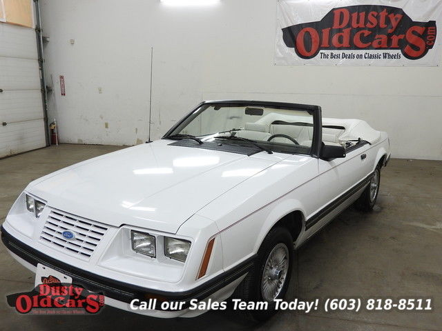 1984 Ford Mustang Runs Drives Decent Condition V6 Auto