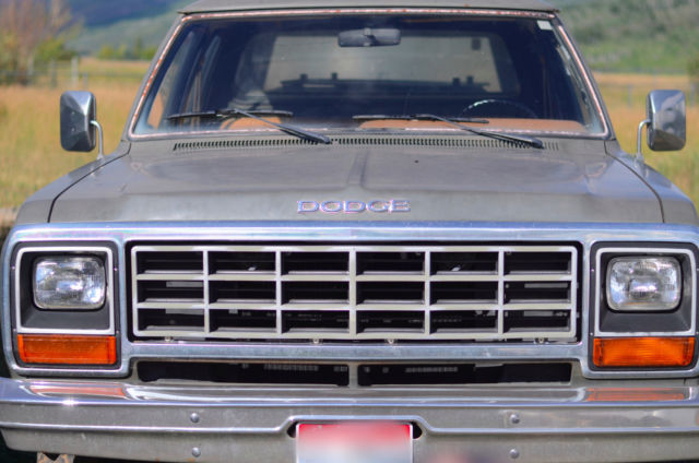 1985 Dodge Other Pickups W350