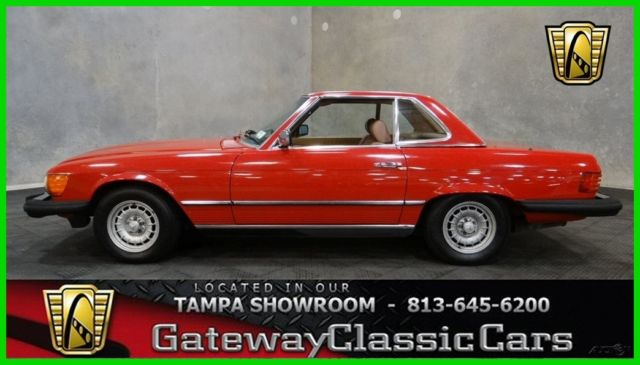 1985 Mercedes-Benz 300-Series 2 Dr Convertible