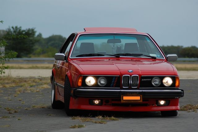 1985 BMW 6-Series All Leather