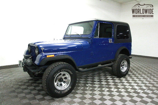 1985 Jeep CJ FRAME OFF RESTORED. PS. PB!