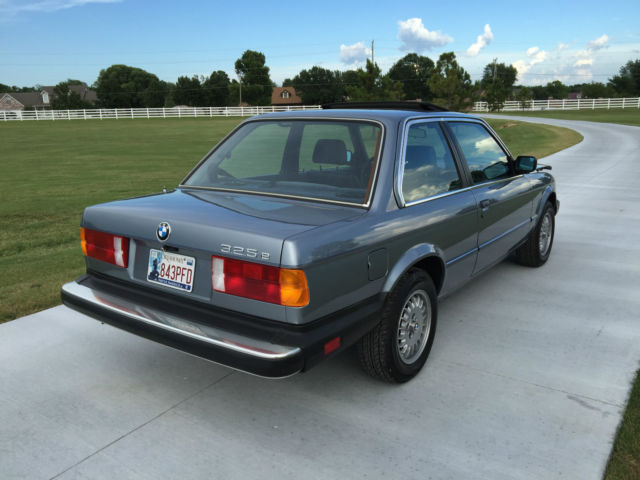 1985 bmw 325e base coupe 2 door 2 7l e30 for sale photos technical specifications description. Black Bedroom Furniture Sets. Home Design Ideas