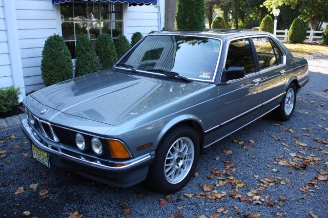 1985 BMW 7 Series 745i Turbo Gray Market 72K Miles