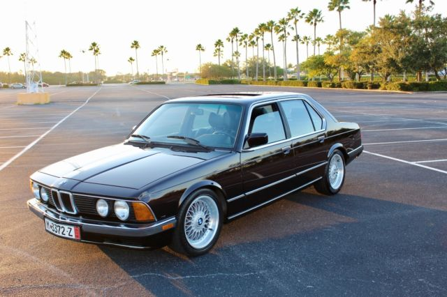 1985 BMW 7-Series Luxury e23 model