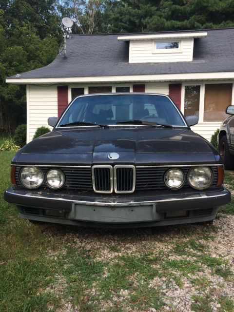 1985 Bmw E23 745i Turbo