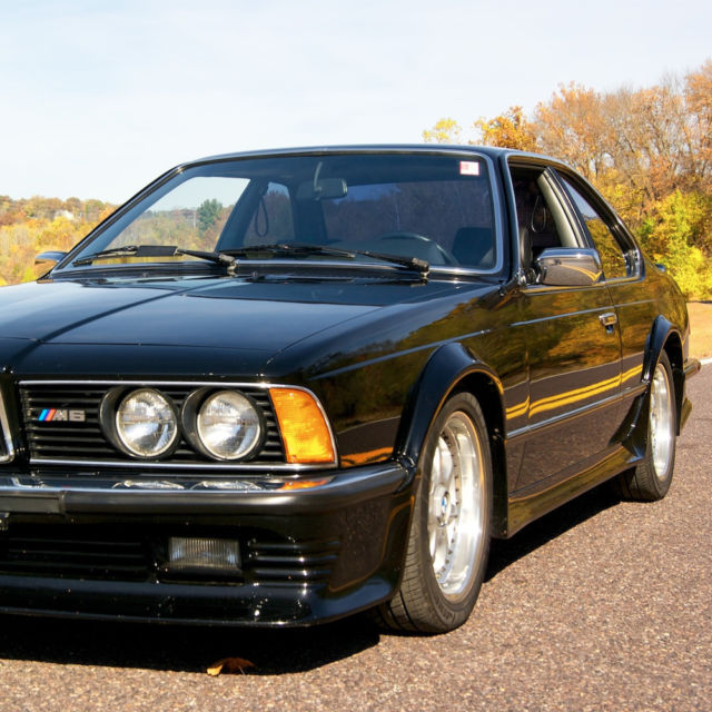 1985 bmw euro 635csi for sale photos technical specifications