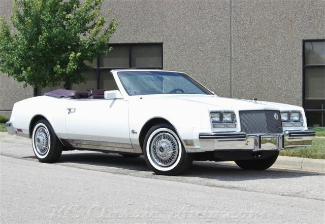 1985 Buick Riviera T-Type Convertible