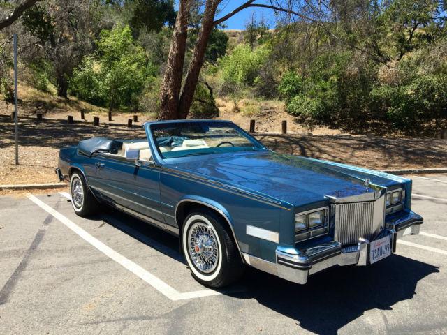 1985 Cadillac Eldorado Biarritz Convertible 2 Door No Reserve