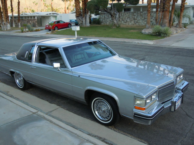 1985 Cadillac Fleetwood Brougham Coupe 2Door 41L for sale