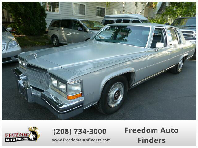 1985 Cadillac Fleetwood 4 door