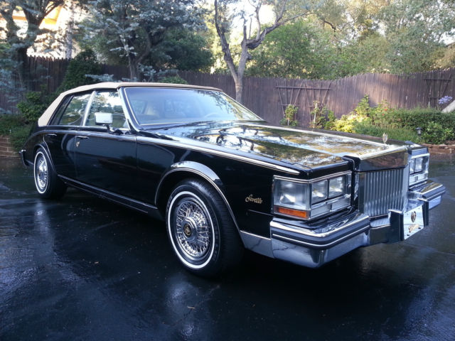 1985 Cadillac Seville Sedan 4 Door 4 1l One Owner California Car For