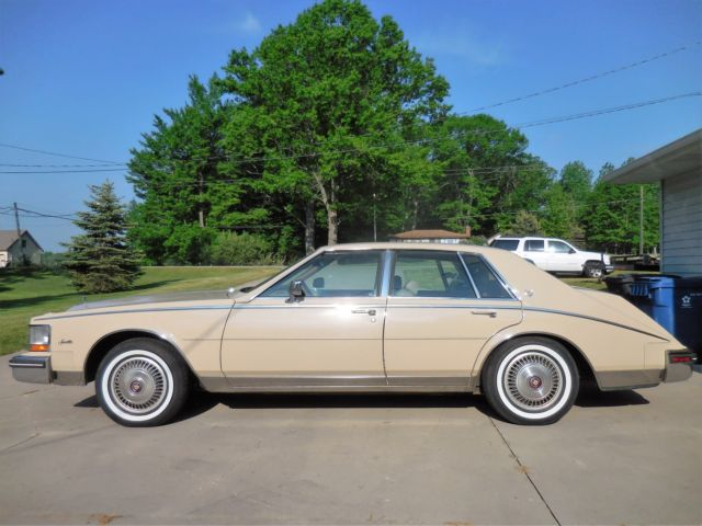 1985 Tan Cadillac Seville Sedan with Tan interior