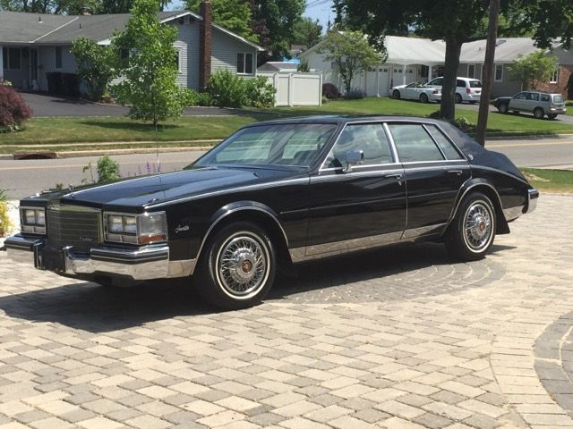 1985 cadillac seville stunning showroom condition rare black on black low miles for sale photos. Black Bedroom Furniture Sets. Home Design Ideas