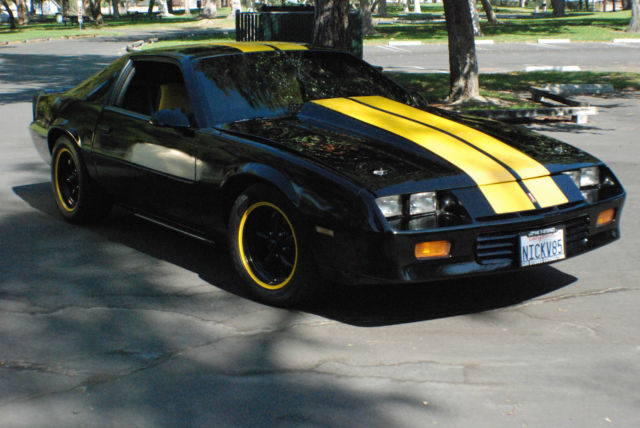 1985 Chevrolet Camaro Berlinetta