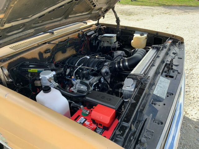 1985 Chevrolet C10 Chevy truck LS2 6 0L Corvette Engine swap