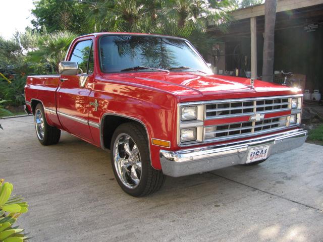 Chevy Dealers Houston >> 1985 Chevrolet c10 silverado shortbed v8 all power custom wheels NICE!! for sale: photos ...