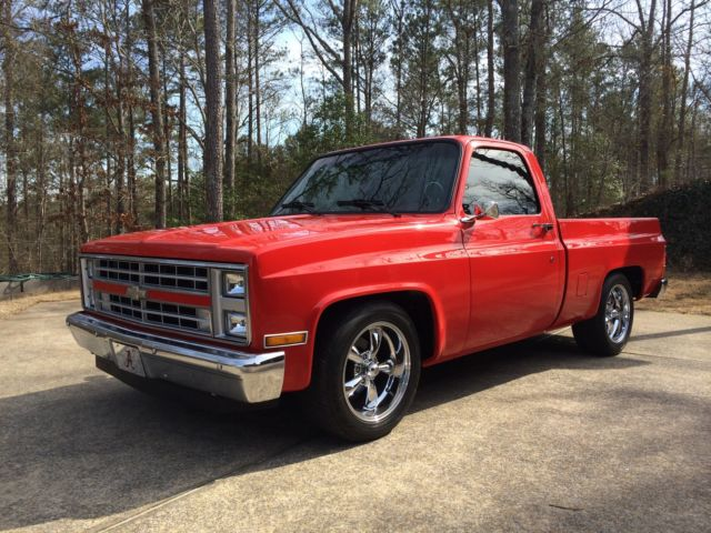 1985 chevrolet c10 truck for sale photos technical specifications description. Black Bedroom Furniture Sets. Home Design Ideas