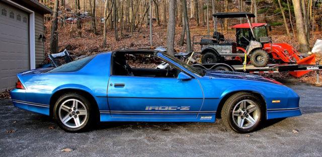 1985 Chevrolet Camaro IROC-Z Sport Coupe 2-Door 5.0L TPI ...