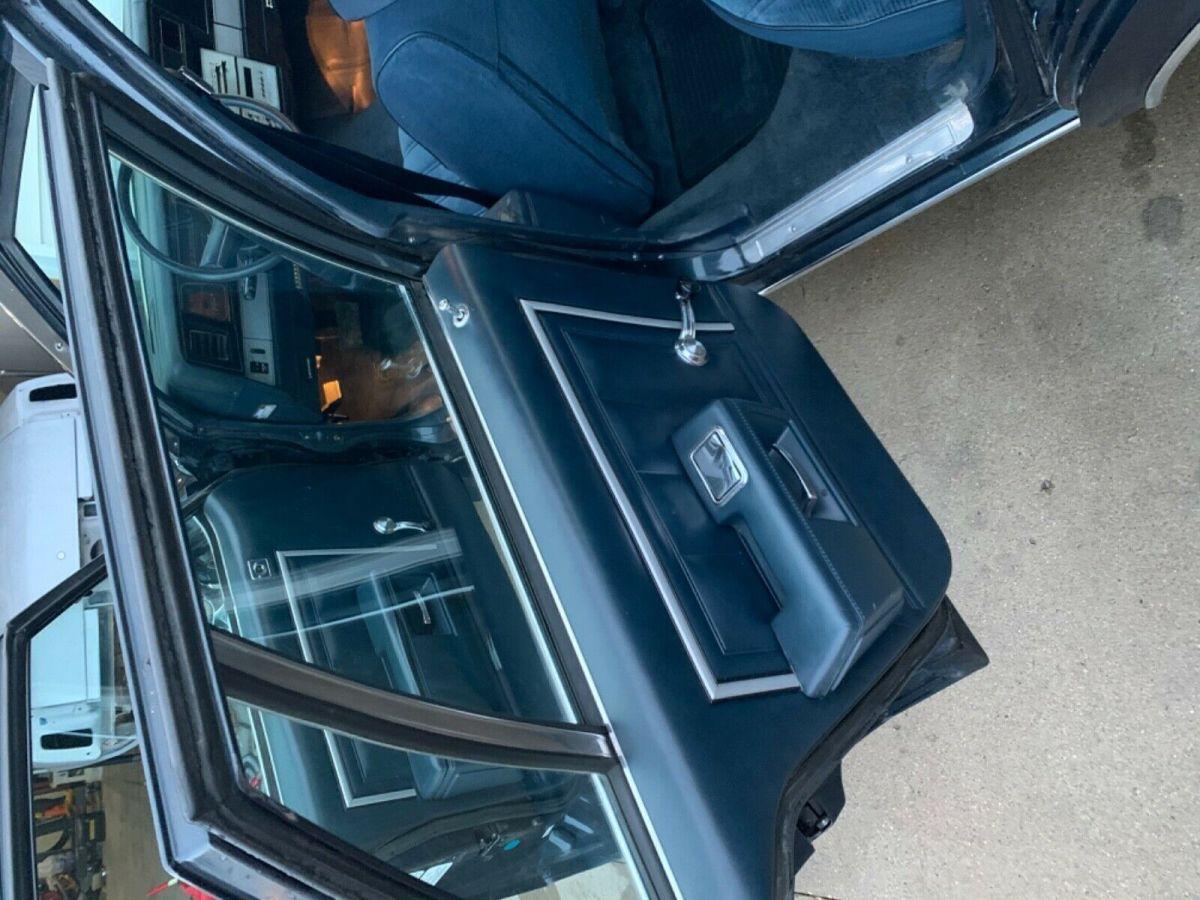 1985 chevy impala interior