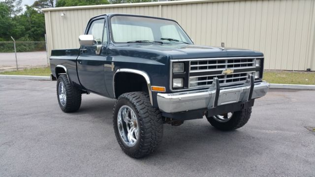 1985 chevrolet k10 4x4 custom deluxe c10 chevy short bed for 1985 chevrolet k10 4x4 custom deluxe c10 chevy short bed sciox Choice Image