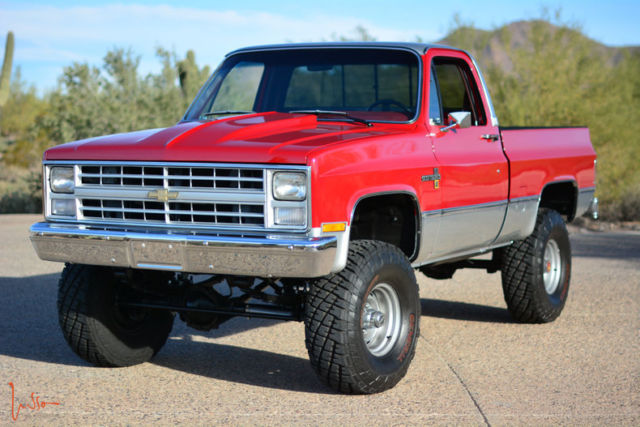 1985 Chevrolet K10 Scottsdale Fully Restored 4inch Lift