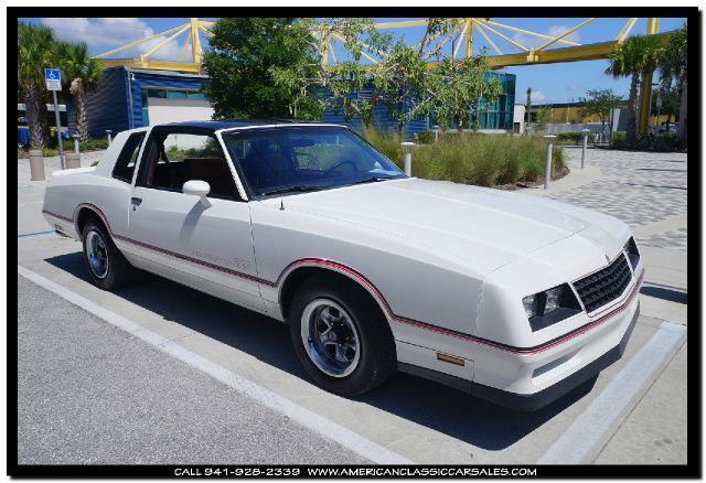 1985 Chevrolet Monte Carlo SS 2dr Coupe
