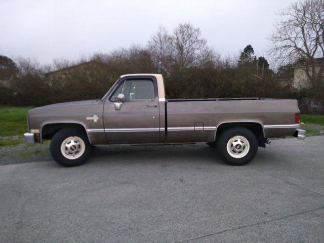 1985 Chevrolet Silverado C20 3/4 Ton 454 (7 4 liter) Big Block